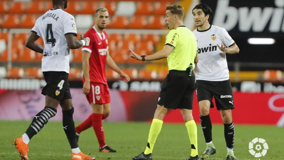Análisis arbitral | Valencia CF 0-1 Sevilla FC