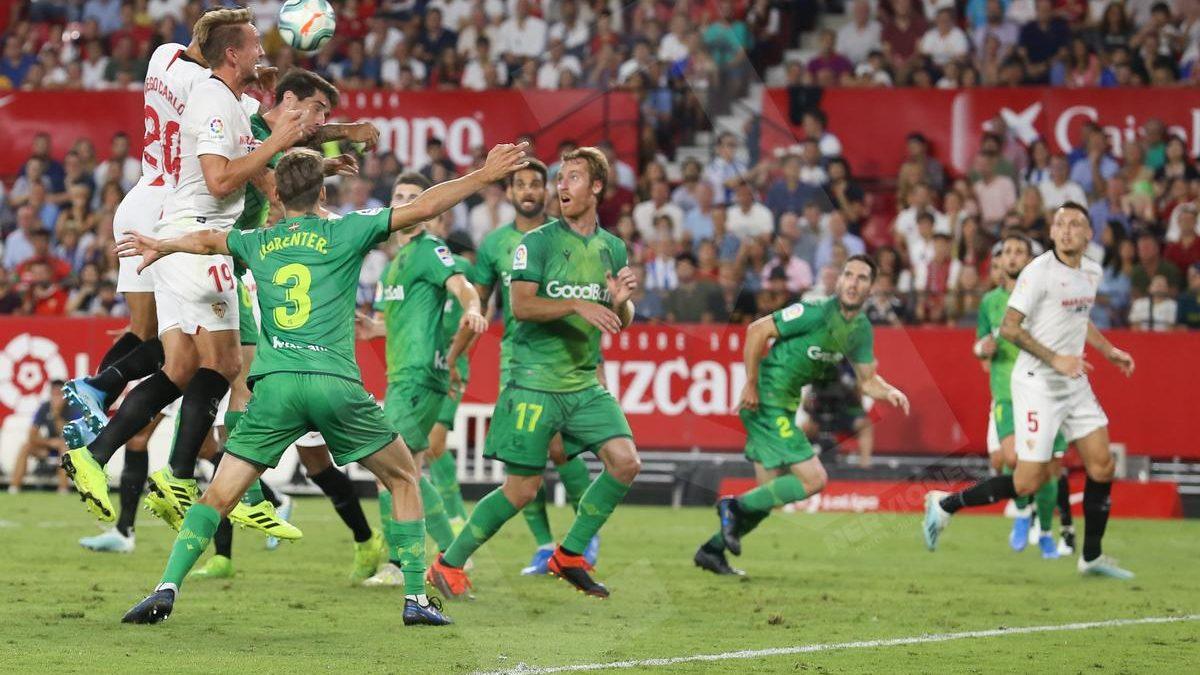 Sevilla FC | Los datos vs Real Sociedad.